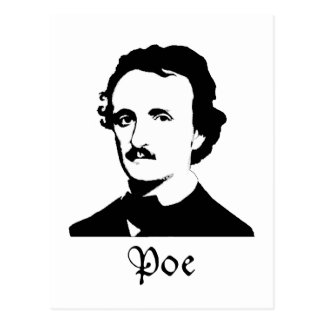 Edgar Allen Poe Postal