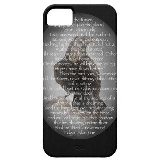 "Edgar Allen Poe ""The Raven"" Halloween Poem bird iPhone SE/5/5s Case"
