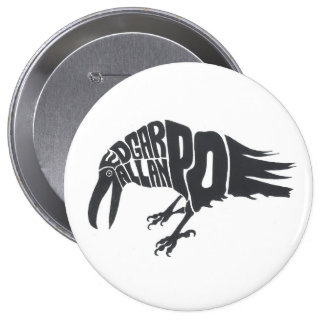 Edgar Allen Poe - The Raven Pinback Button