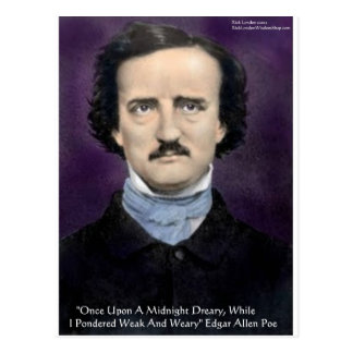 "Edgar Allen Poe ""The Raven"" Quote Gifts & Cards"