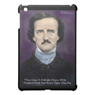 """Edgar Allen Poe """"The Raven"""" Quote Gifts & Cards Cover For The iPad Mini"""
