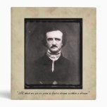 Edgar Allen Poe Vintage Binder