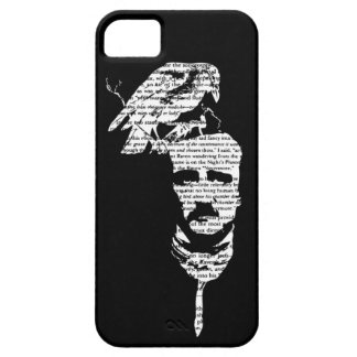 Edgar Allen Poe with Raven iPhone Case iPhone 5 Cover