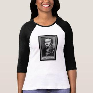 Edgar Allen Poe y cuervo Playera