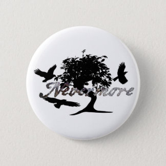 Edgar Allen Poe's The Raven Button