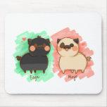Edgar and Maya Mouse Pad
