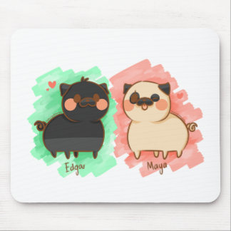 Edgar and Maya Mouse Pad