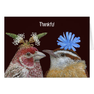 Edgar and Talulah greeting card