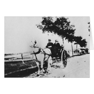 Edgar Degas (1834-1917) and a friend in the countr Cards