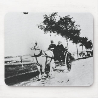 Edgar Degas (1834-1917) and a friend in the countr Mouse Pad