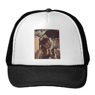 Edgar Degas - 1887-90 Woman w/ Parasol @ Tuileries Trucker Hat