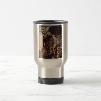 Edgar Degas - 1887-90 Woman w/ Parasol @ Tuileries 15 Oz Stainless Steel Travel Mug