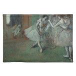 Edgar Degas - A Group of Dancers Cloth Place Mat