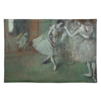 Edgar Degas - A Group of Dancers Cloth Placemat
