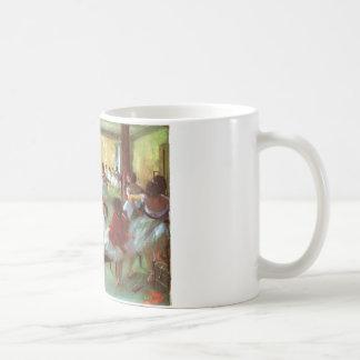 Edgar Degas - aceite del bailarín de la escalera d Tazas De Café