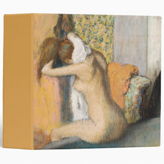 Edgar Degas | After the Bath, Woman Drying Neck 3 Ring Binder