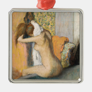 Edgar Degas | After the Bath, Woman Drying Neck Metal Ornament