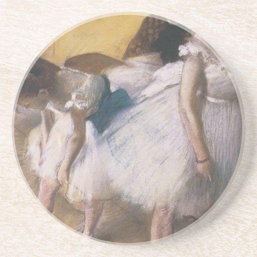 Edgar Degas antes del ensayo Posavasos Diseño