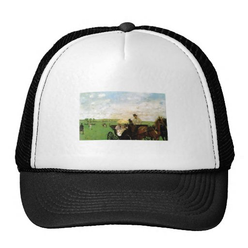 Edgar Degas - At country Races 1872 Horse Scape Trucker Hat