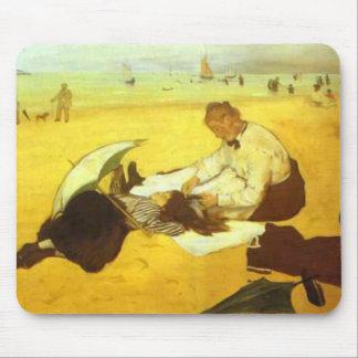 Edgar Degas - At the Beach Mouse Pad