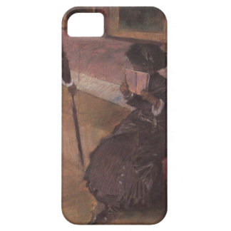 Edgar Degas At The Louvre iPhone SE/5/5s Case