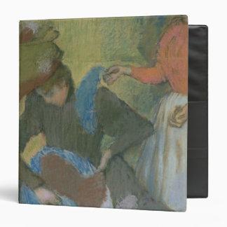 Edgar Degas   At the Milliner's, c.1898 Binder