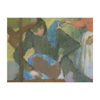 Edgar Degas   At the Milliner's, c.1898 Canvas Print