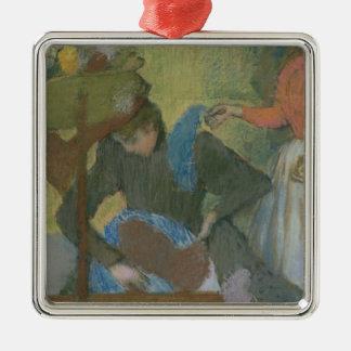 Edgar Degas   At the Milliner's, c.1898 Metal Ornament