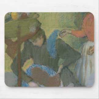 Edgar Degas   At the Milliner's, c.1898 Mouse Pad