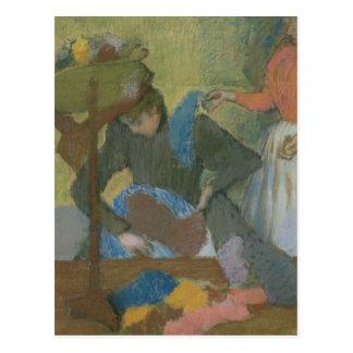 Edgar Degas | At the Milliner's, c.1898 Postcard