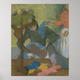Edgar Degas   At the Milliner's, c.1898 Poster