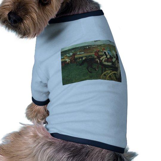 Edgar Degas - At the Races 1877-1880 Horse Jockey T-Shirt
