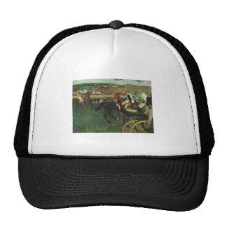 Edgar Degas - At the Races 1877-1880 Horse Jockey Trucker Hat