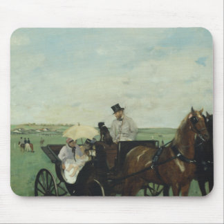 Edgar Degas – At the Races in the Countryside Mouse Pad