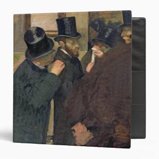 Edgar Degas | At the Stock Exchange, c.1878-79 3 Ring Binder