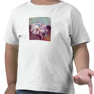 Edgar Degas - bailarín doblado encima Camiseta