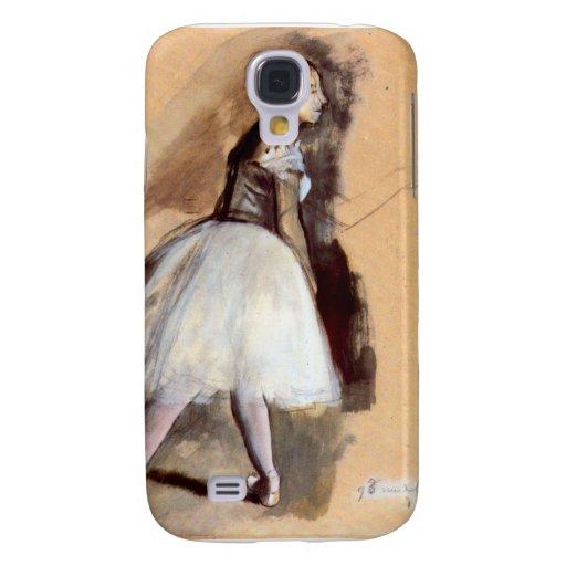 Edgar Degas - bailarín en la posición del paso