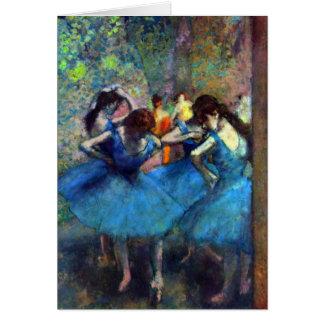 Edgar Degas - bailarinas Tarjeta De Felicitación
