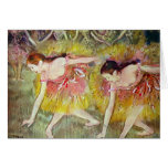 Edgar Degas - bailarines de ballet Felicitacion