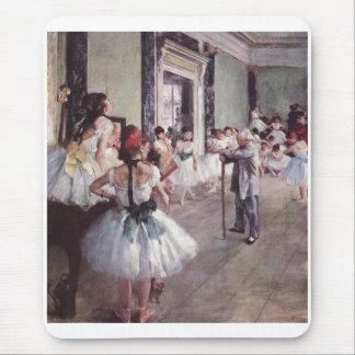 Edgar Degas - bailarines de la lona del aceite de Tapete De Ratones