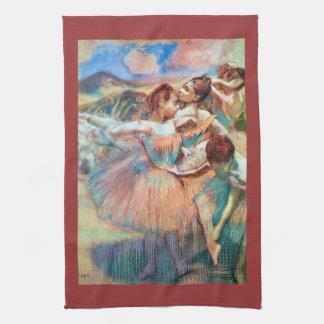 Edgar Degas - bailarines en el paisaje Toalla