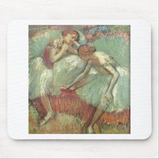 Edgar Degas - bailarines en el pastel 1898 del Tapetes De Raton