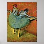Edgar Degas - bailarines en la barra Impresiones