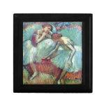 Edgar Degas - bailarines en verde Caja De Joyas