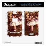 Edgar Degas - bailarines jovenes Motorola RAZR Skins