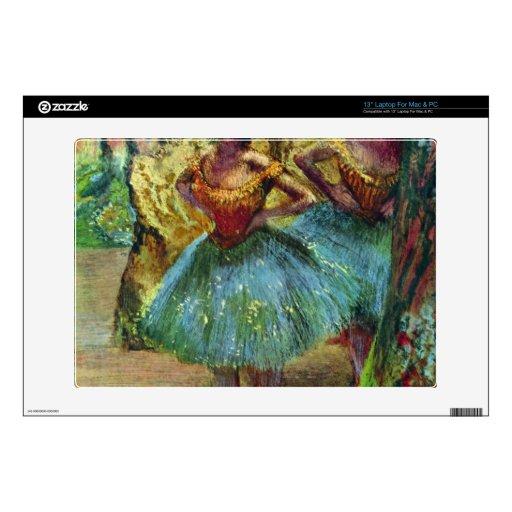 Edgar Degas - bailarines Portátil Calcomanías