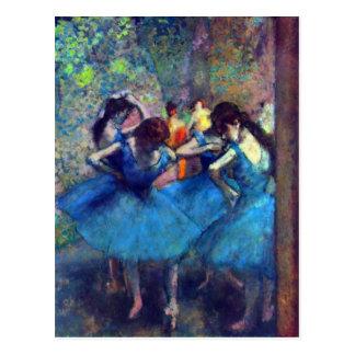 Edgar Degas - bailarines Postal