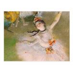 Edgar Degas Ballerina Postcard