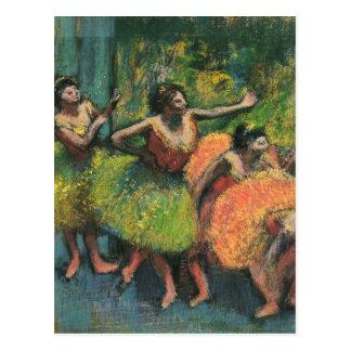 Edgar Degas Ballerina Postcards