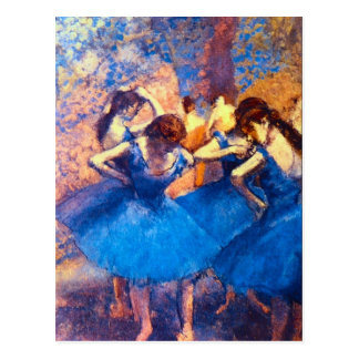 Edgar Degas - Ballerine Postcard